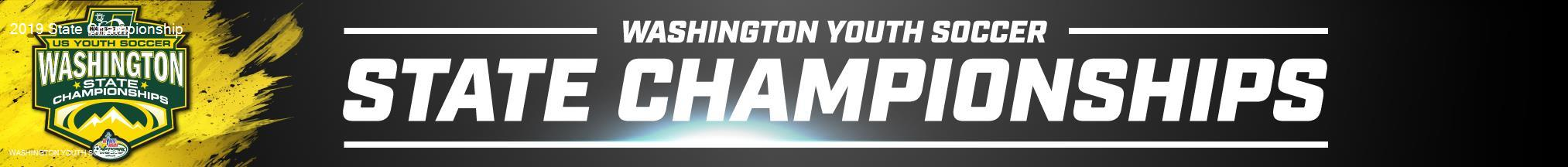 2019 Washington Youth Soccer State Championship banner